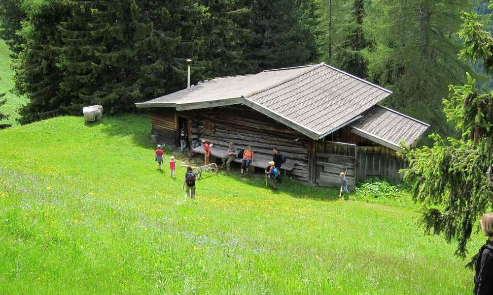 Holidays in South Tyrol: Visit our mountain hut in Tiers am Rosengarten
