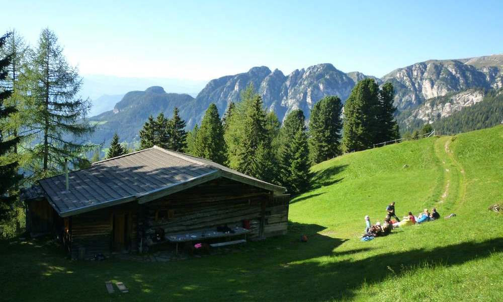 King Laurin's kingdom in the Dolomites