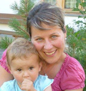 Angelika mit Johanna