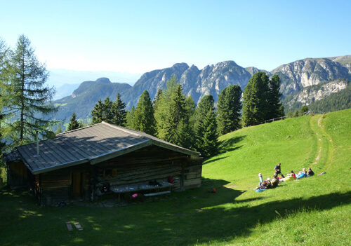Our mountain hut - time out