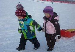 Kinderparadies - Rodelspaß für die Kleinen
